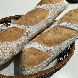 ホシノ天然酵母で作るフランスパン