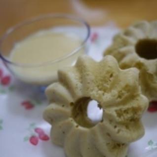 ヘルシー★ノンオイル豆乳焼きドーナッツ