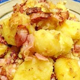 ベーコンとジャガイモのバター炒め☆