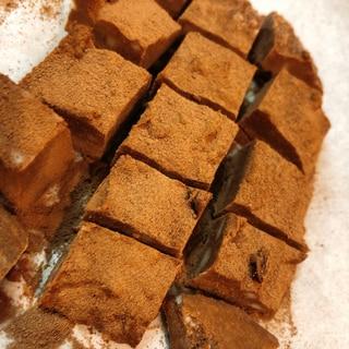 節約できて低糖質★豆腐感ゼロの豆腐生チョコ