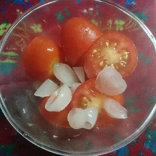 ミニトマトとらっきょうのマリネ
