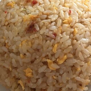 チャーハンの素でパラパラ炒飯