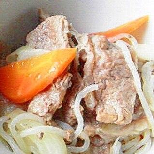 マイヤー電子レンジ圧力鍋で、牛肉の煮物