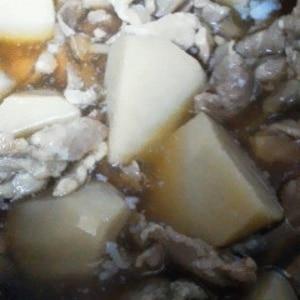 里芋と豚肉のとろっと煮♪