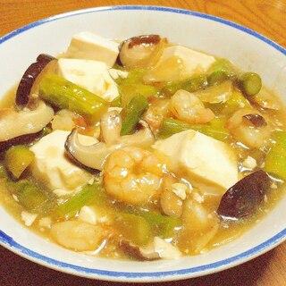 豆腐とえびの旨煮