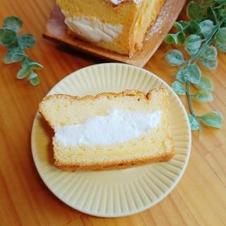 パウンド型☆ふわふわ生シフォンケーキ