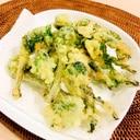 ★山菜★こごみの天ぷら