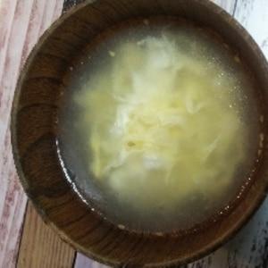 お店のあの味!絶品!中華卵スープ♪