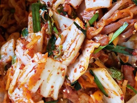 基本のキムチ*白菜キムチの切り漬け