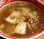 れんこんと里芋のスープ