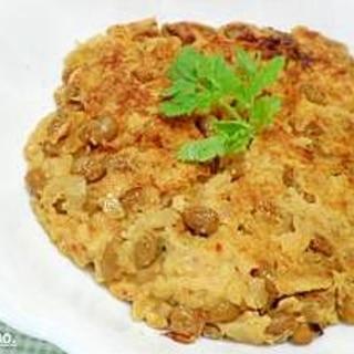 納豆キムチの玉子焼き