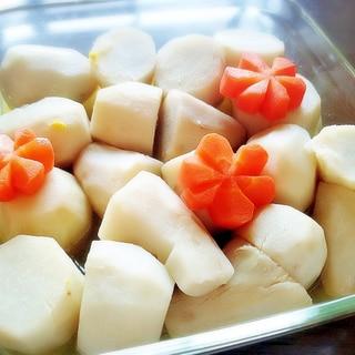 柚子風味!! 里芋の白煮★ お節にも♪