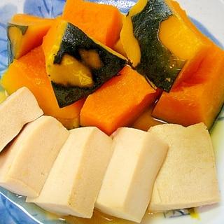 かぼちゃと高野豆腐の含め煮