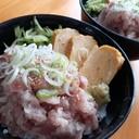 三色ネギトロ丼!きゅうりのナムルと甘い卵焼き入り!