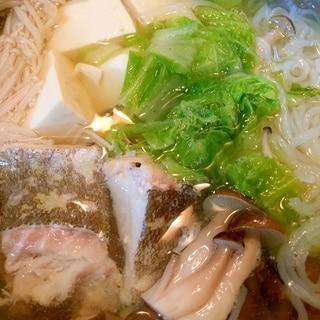 鱈鍋♪シンプルが旨い♪
