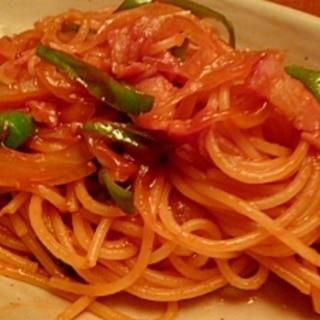 懐かしい味☆和風ナポリタンスパゲティ