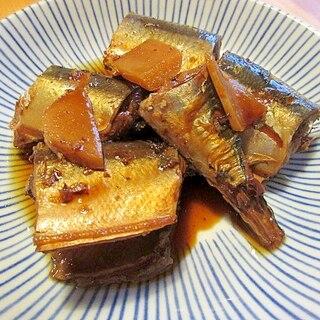 普通の鍋で★骨まで柔らかサンマの煮つけ