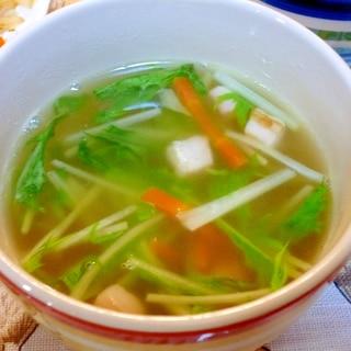 コロコロ炒めてコクが出る♪冬瓜とベーコンのスープ♪