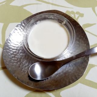 ココナッツミルクパウダーde簡単プリン