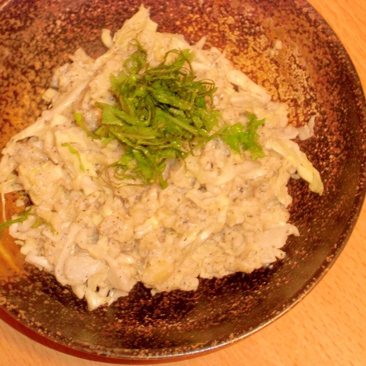 シャキシャキキャベツのマヨ豆腐ポテトサラダ
