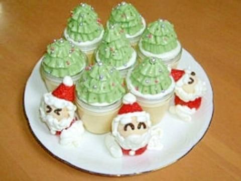 デコレーション☆もみの木プリン☆クリスマスケーキ