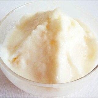 梨のフローズンヨーグルト