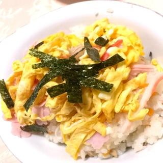 節句料理、ちらし寿司♪