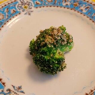 冷凍ブロッコリーのレンチンマヨ胡麻和え