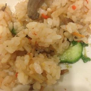 簡単アレンジ☆あさりの佃煮でたきこみごはん