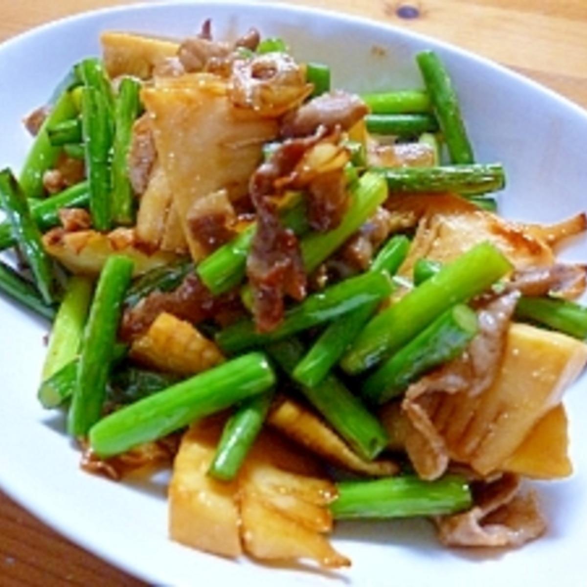にんにく の 芽 レシピ