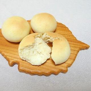 無塩パン☆簡単な丸パン★減塩・低カリウム志向