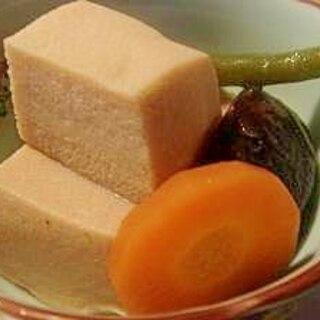 ☆簡単☆圧力鍋で作る高野豆腐
