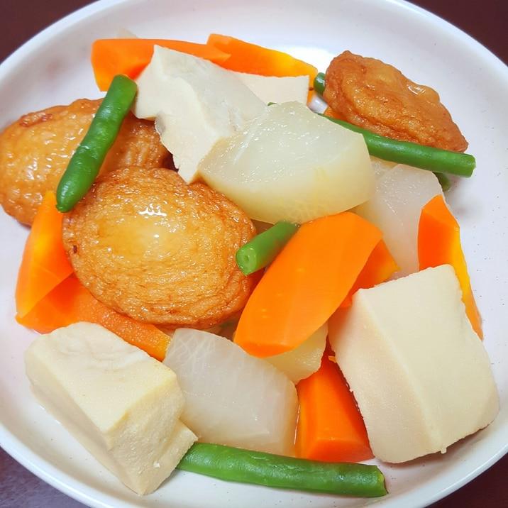 ★白だしで♪野菜とさつまあげの煮物★