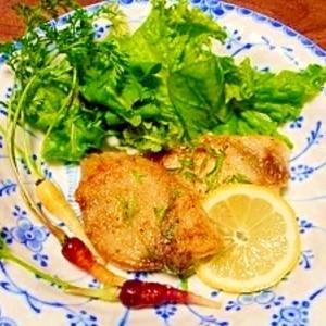 カジキマグロ☆レモンバターソース