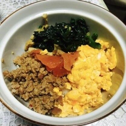 こんにちは。簡単に作れて、とても美味しかったです。 春菊は、家庭菜園のを使ったので、新鮮でした。 彩りも綺麗ですね。 ご馳走さまでした。