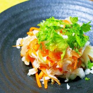 タイ風な切干セロリの和え物