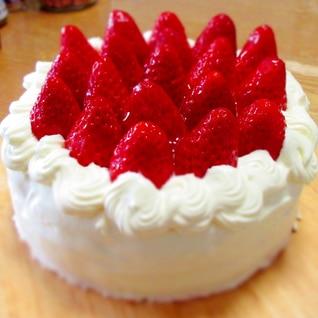 15cmいちごカスタードケーキ