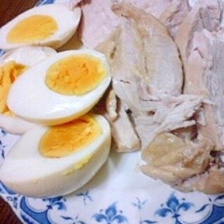 簡単保存食!鶏胸肉の醤油煮