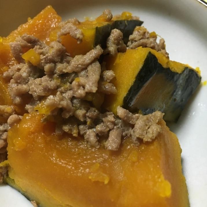 かぼちゃ そぼろ 煮