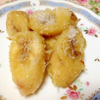 ココナッツオイルで♡焼きバナナ