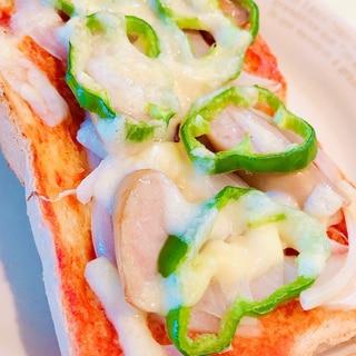 簡単美味しい♡基本のピザトースト