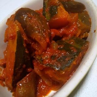 胃腸に優しい♪かぼちゃと茄子のラタトゥイユ