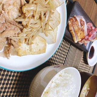 豚肉の肉豆腐