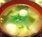 里芋ゴロゴロ味噌汁