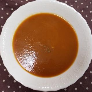 おせちの後はビスクスープ