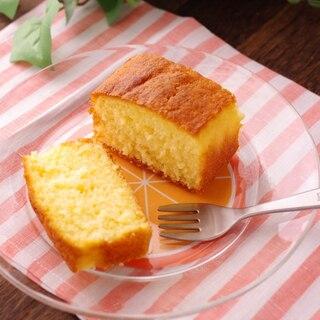 オレンジジュースで簡単しっとり爽やかオレンジケーキ