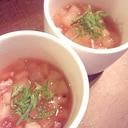 【お手軽】冬瓜と長芋の冷たいとろりん小鉢