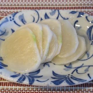箸休めに!小かぶの柚子こしょう和え