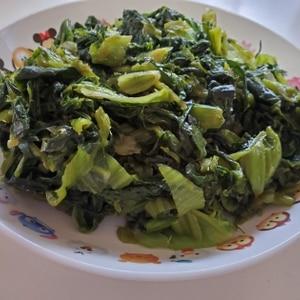 生の高菜で常備菜☆高菜の油炒め