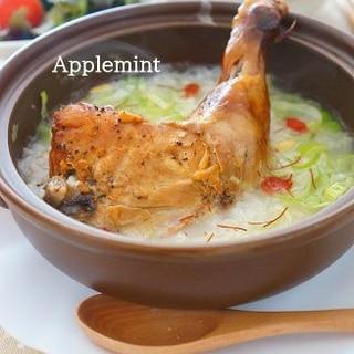コストコチキンレッグで参鶏湯(サムゲタン)